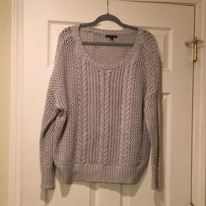American Eagle Gray Sweater